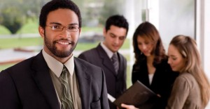 Job Seekers-Man smiling in front