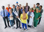 Diverse Multi-ethnic People with Different Jobs