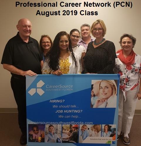 August 2019 Professional Career Network Class Graduates
