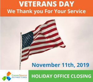 Veterans Day - Offices Close
